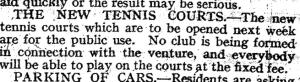 bowls history 26 June 1930