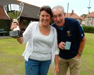 players final Cup Winners Shan and Brian 2