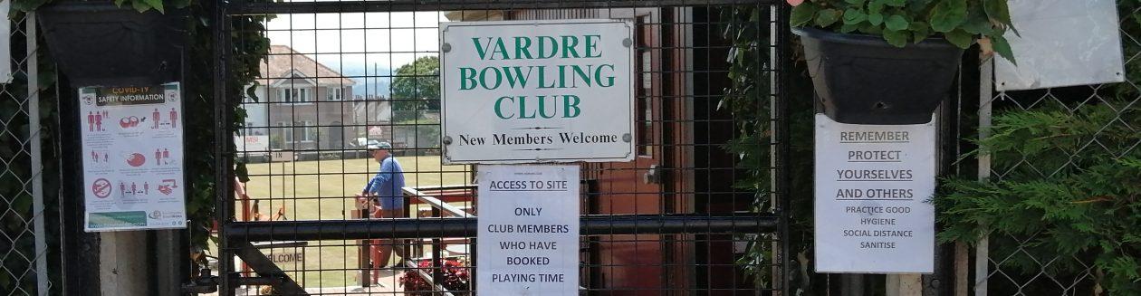 Vardre CGB Club , Deganwy , North Wales.
